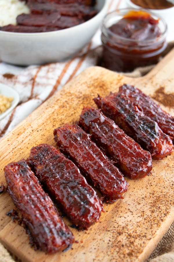 Baked BBQ Tempeh Recipe