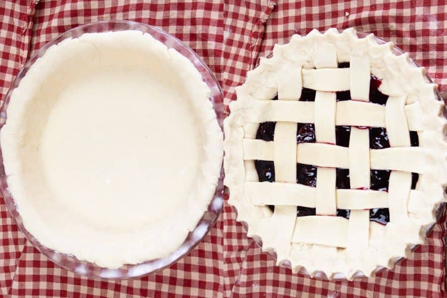 Baking Vegan Cherry Pie