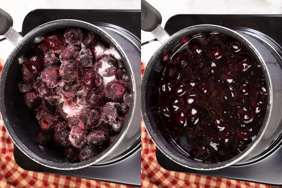 Vegan Cherry Pie Filling