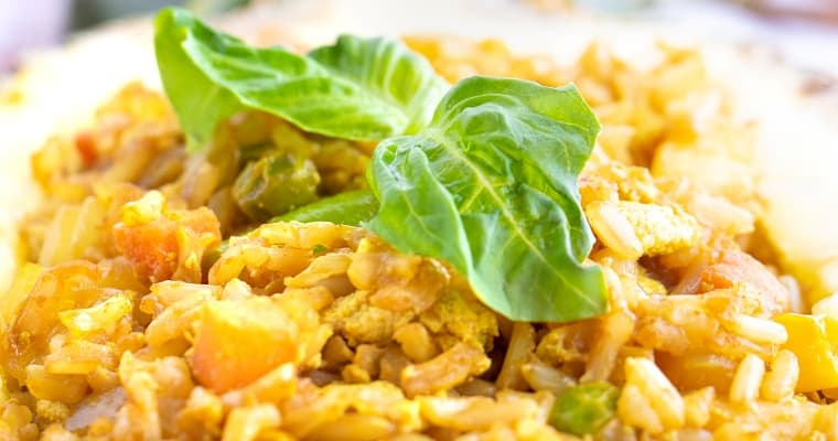 Vegan Pineapple Fried Rice Recipe