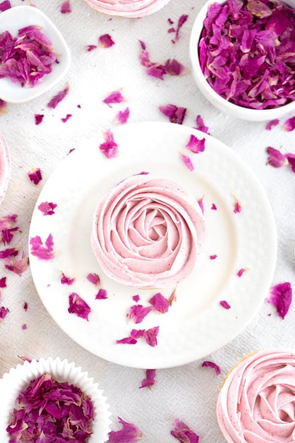 Best Rose Cupcakes