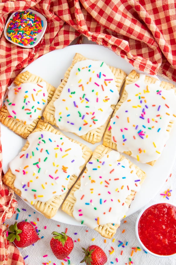 Vegan Breakfast Pop Tarts