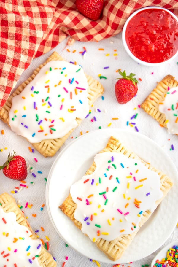 Best Vegan Strawberry Poptarts