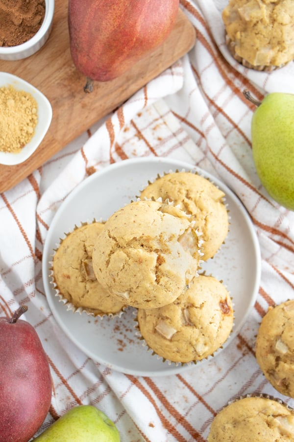 Homemade Pear Muffin Recipe