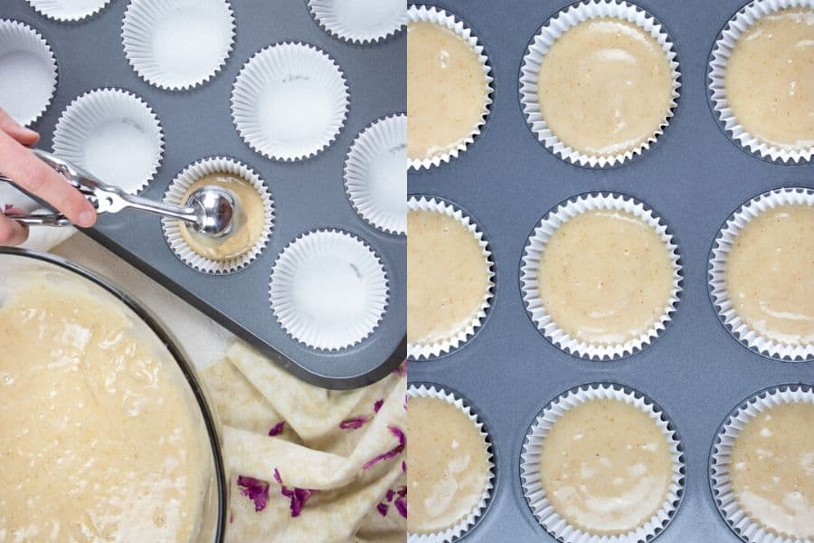 Baked Rosewater Cupcakes
