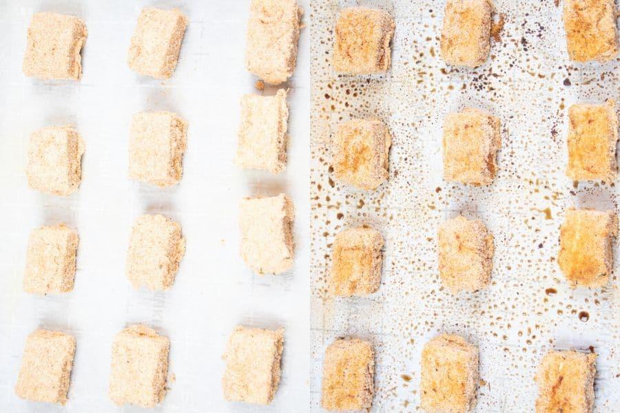 Baked Tofu Nuggets