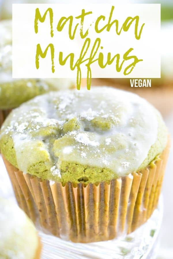 Vegan Matcha Muffins