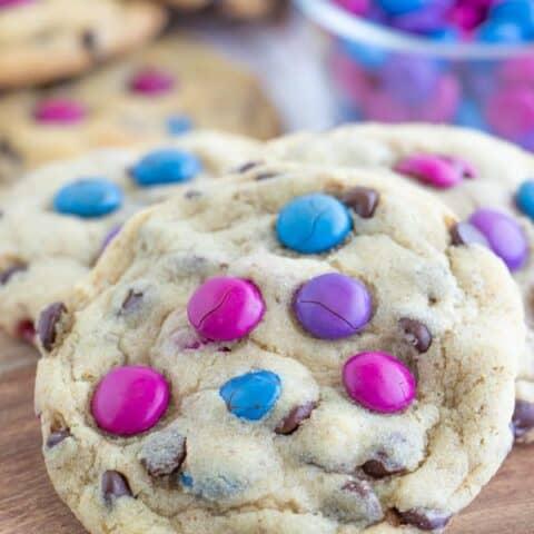 M&M Cookie Recipe (Chewy + Vegan)