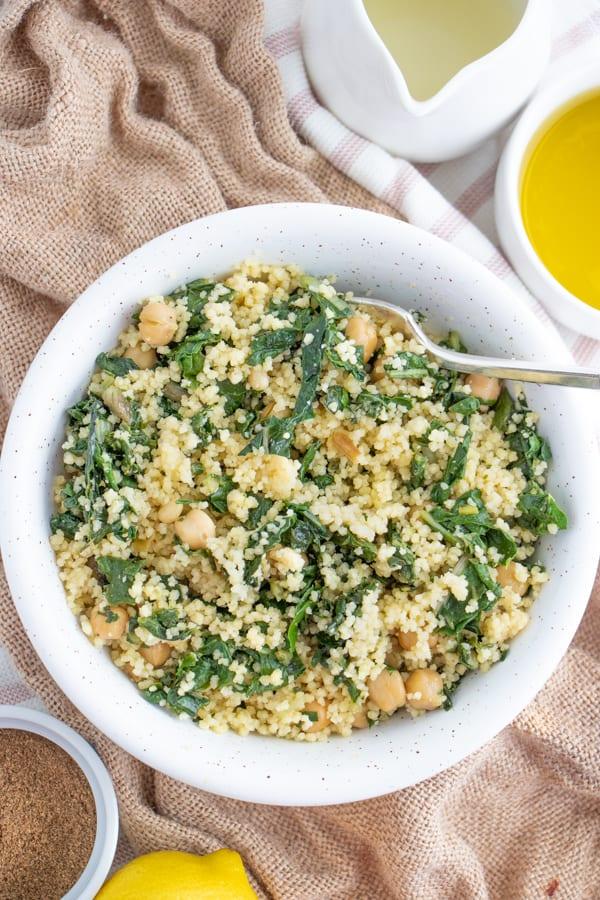 Moroccan Couscous Vegetarian