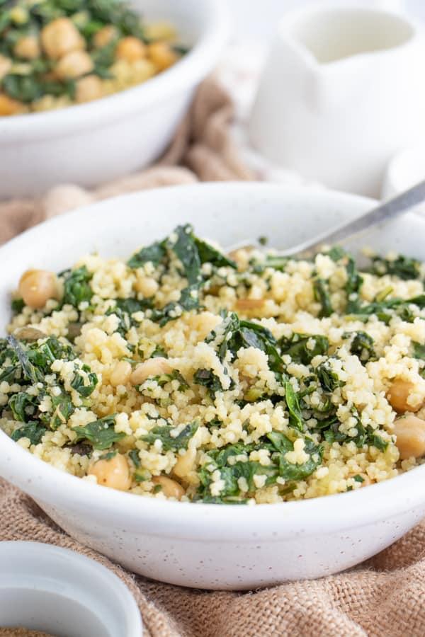 Vegan Moroccan Couscous Salad