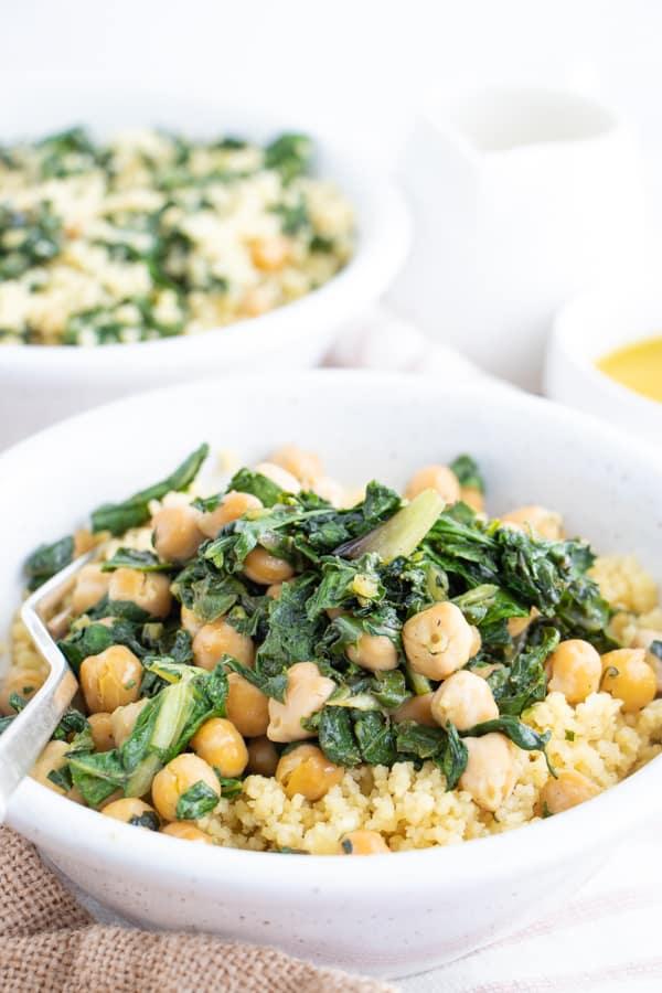 Easy Vegan Couscous Salad