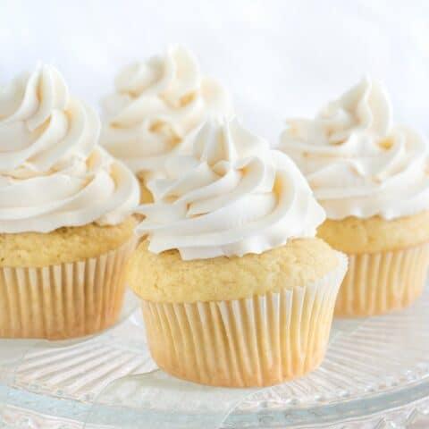 Vegan Vanilla Cupcake Frosting