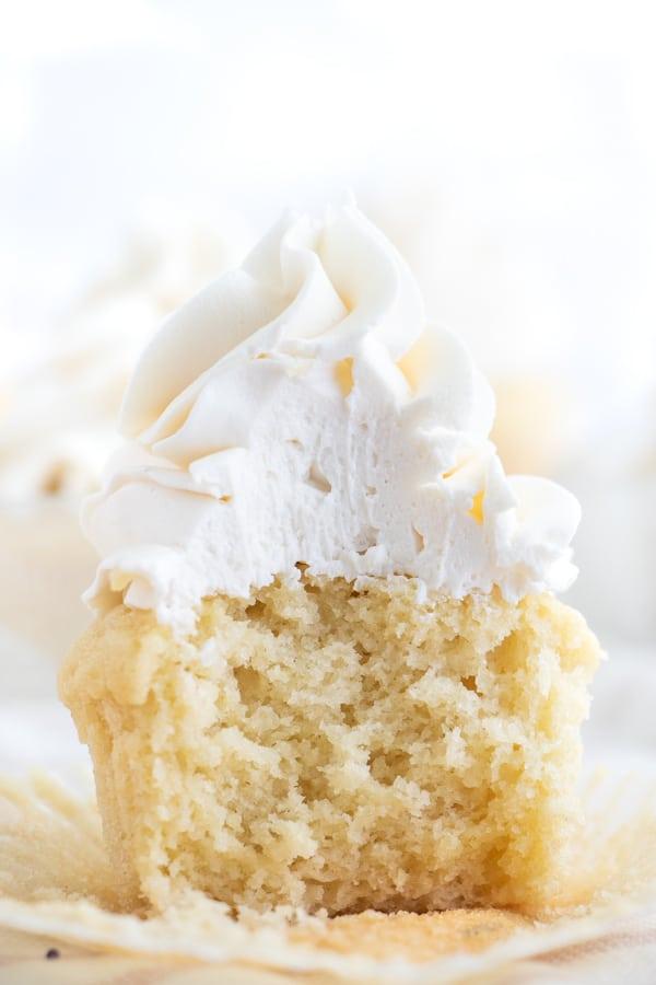 Vegan Vanilla Cupcake Recipe
