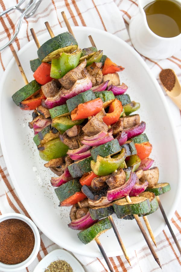 Vegetarian Skewers Recipe