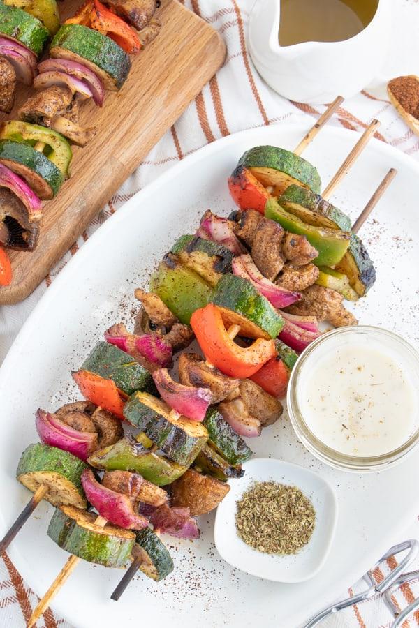 Vegetable Shish Kabobs Recipe
