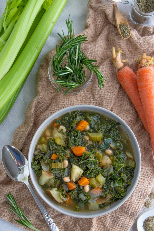 Healthy Vegan Vegetable Soup