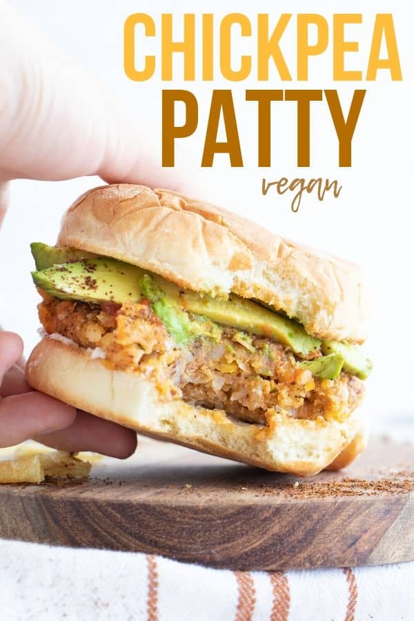 Vegan Chickpea Patty