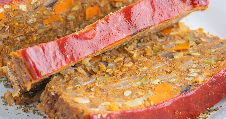 Best Vegan Lentil Loaf