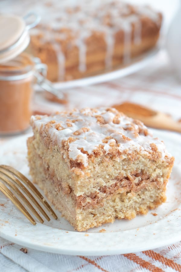 Easy Vegan Coffee Cake Recipe
