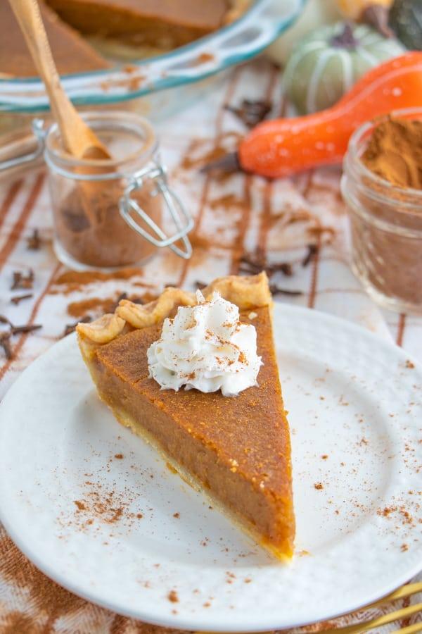 Easy Vegan Pumpkin Pie Filling