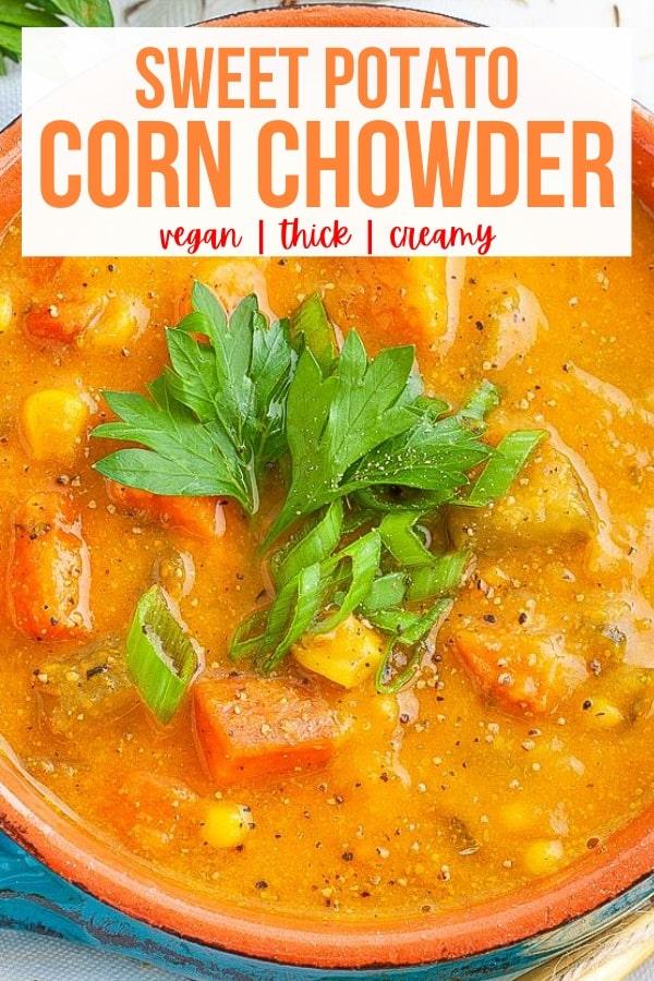 Vegan Corn Chowder
