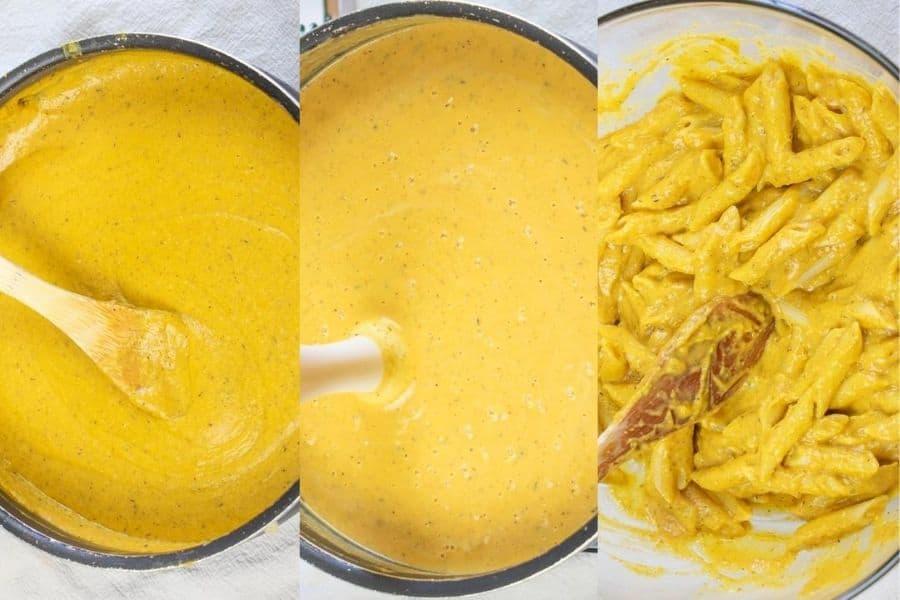 Creamy Pumpkin Sauce