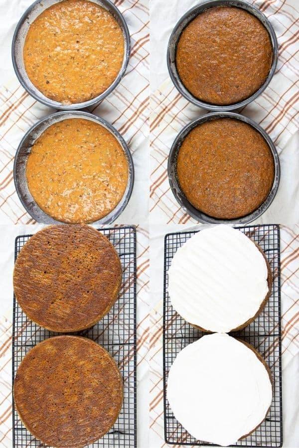 Homemade Carrot Cake Recipe