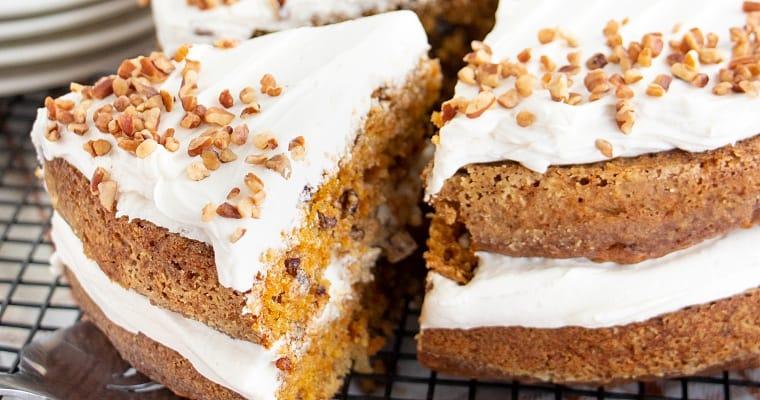 Vegan Carrot Cake Baked