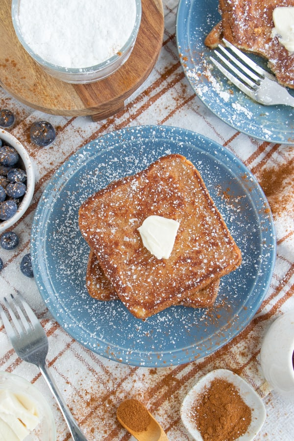 Vegan French Toast Breakfast