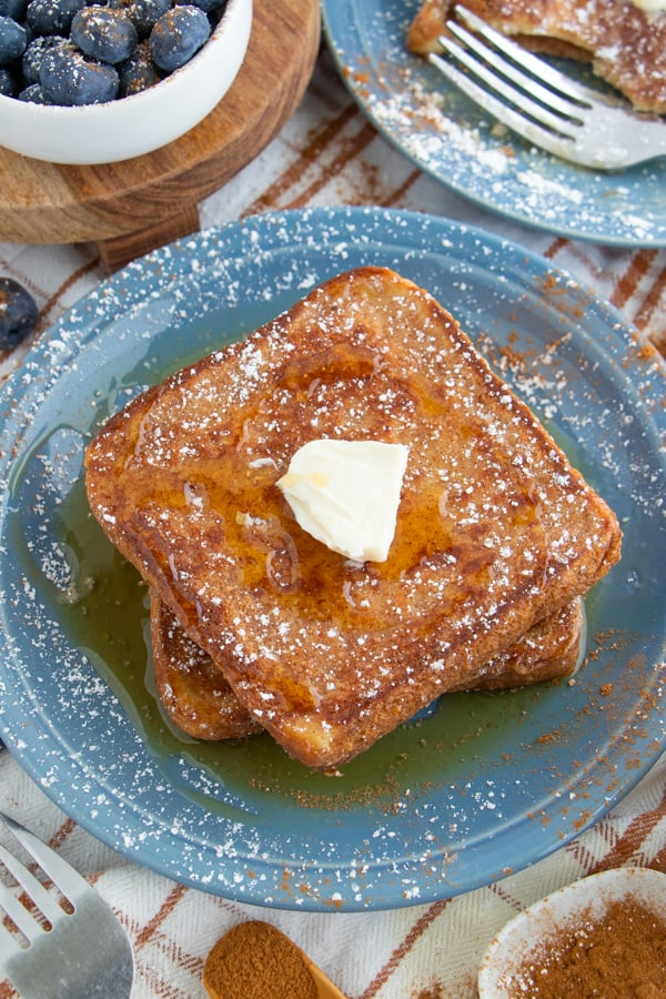 Healthy French Toast without Milk