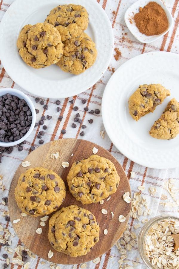 Pumpkin Oatmeal Cookies Recipe