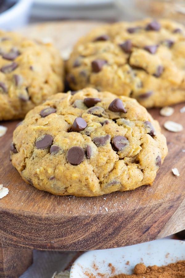 Pumpkin Oatmeal Cookies Healthy