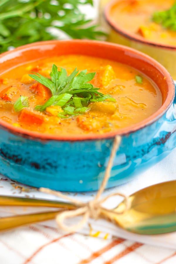 Vegetarian Corn Chowder