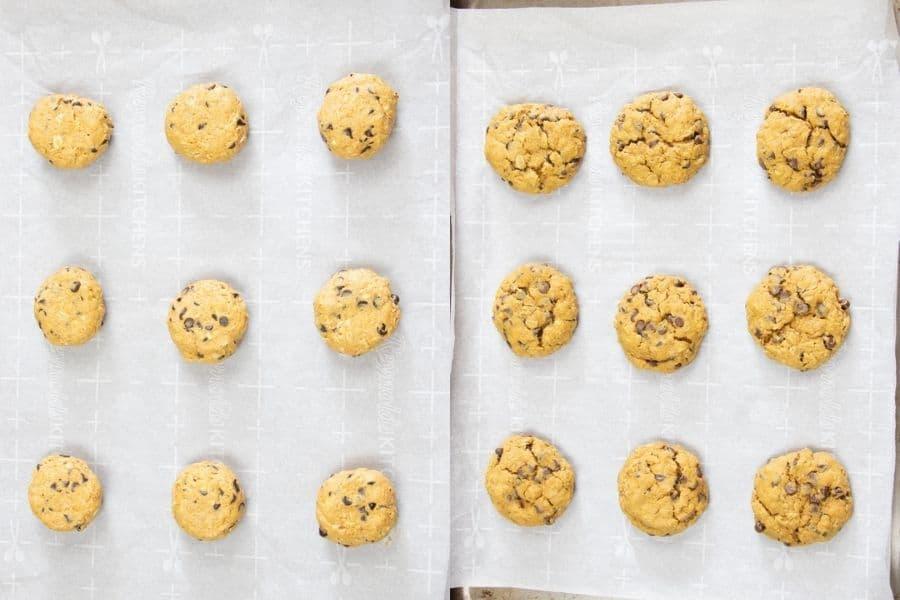 Vegan Baked Oatmeal Cookies
