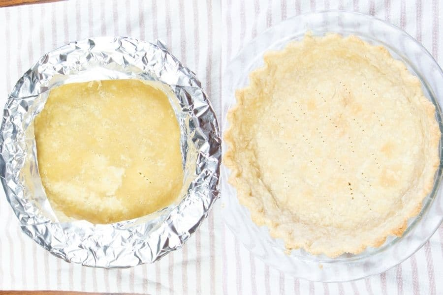 Easy Baked Butter Pie Crust