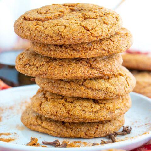 Vegan Molasses Cookies Recipe