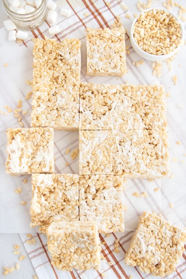 Rice Krispie Treats Dairy Free