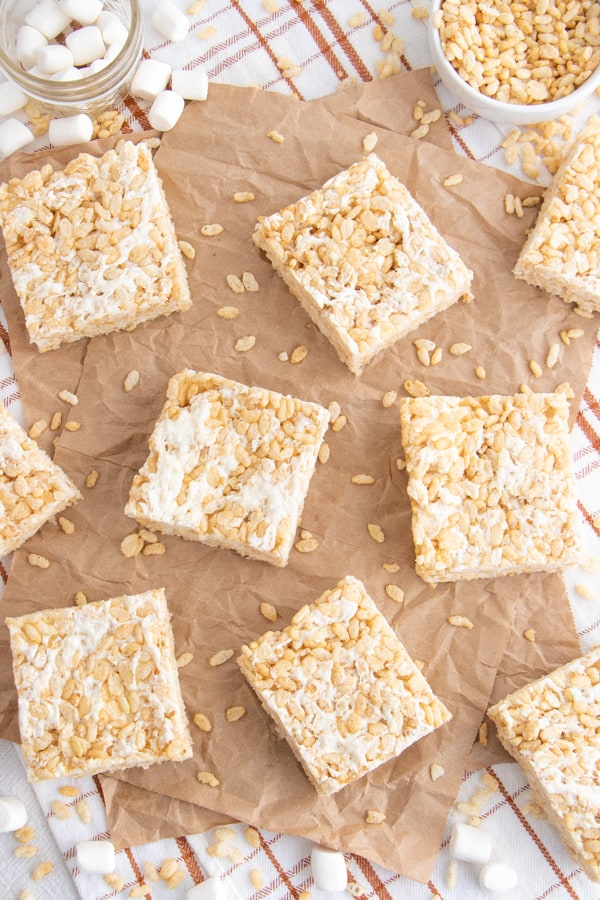 Rice Krispie Treats Sheet