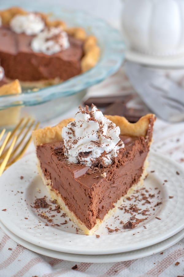 Vegan Chocolate Pie No Tofu