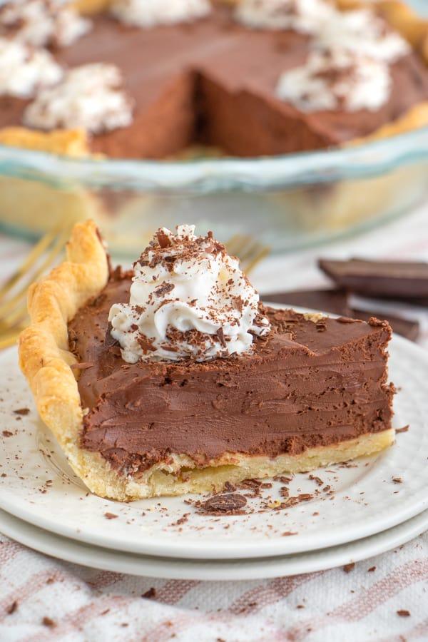 Chocolate Pie No Bake