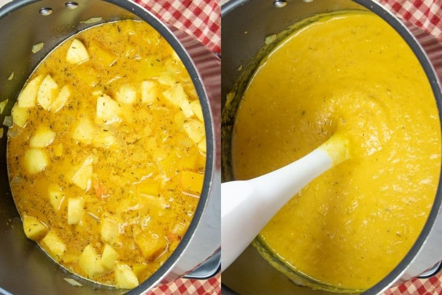 Best Vegetarian Butternut Squash Soup