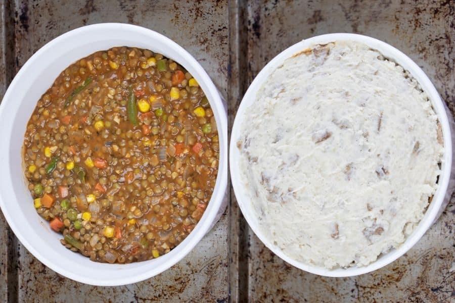 Healthy Homemade Shepherd's Pie