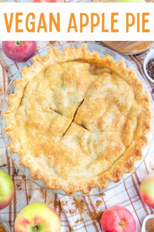 Vegan Flaky Apple Pie