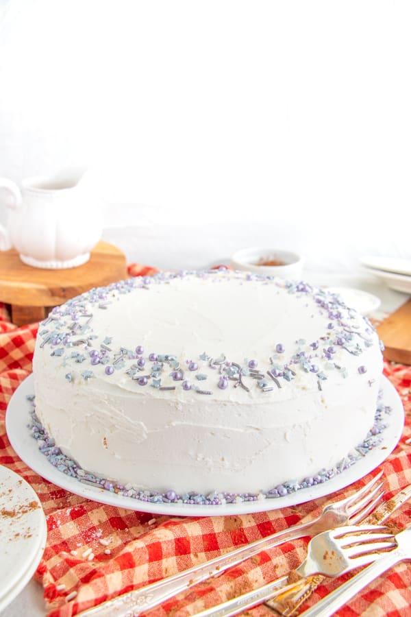 Vegan Cake Recipe Simple