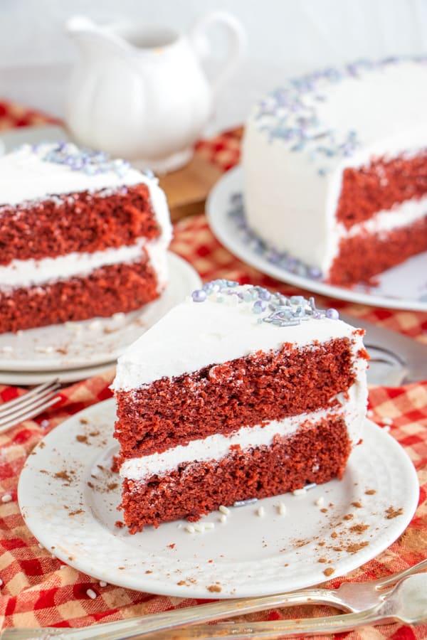 Recipe for Vegan Red Velvet Cake