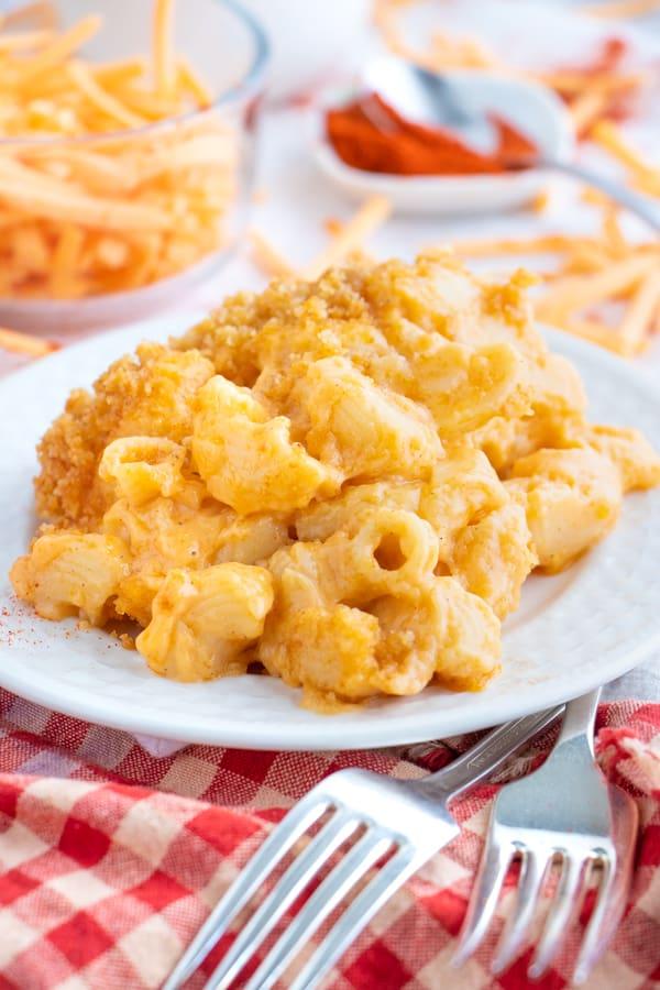 Vegan Mac and Cheese Nut Free