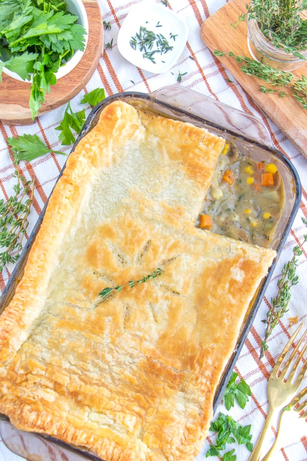 Vegan Pot Pie Filling