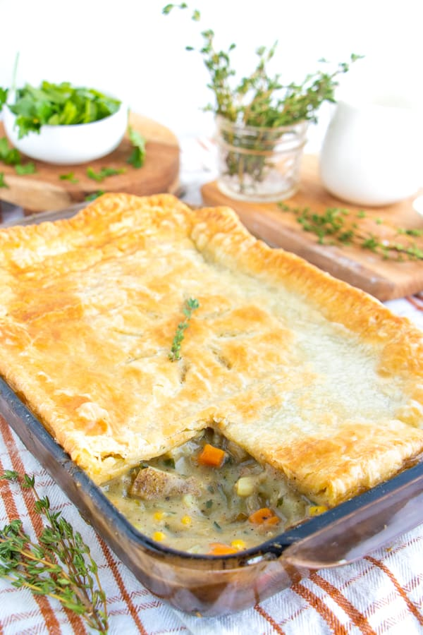 Veggie Pot Pie Recipe