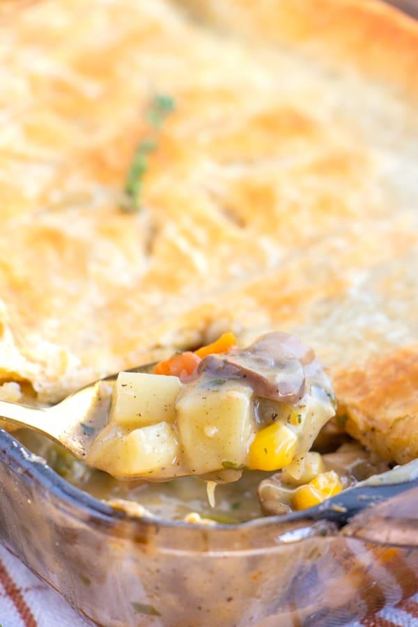 Vegetarian Pot Pie Easy