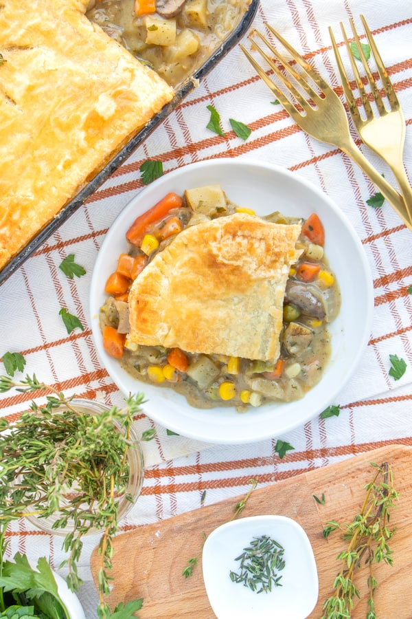 How to Make Vegetarian Pot Pie